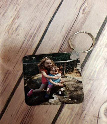 Custom Photo Aluminum keychain
