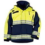 5.11 Tactical #48073 Men's Responder High-Vis Parka (Dark Navy, 3X-Large)