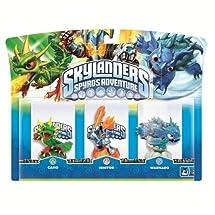 Skylanders Spyro's Adventure Triple Character Pack (Ignitor, Warnado, Camo)