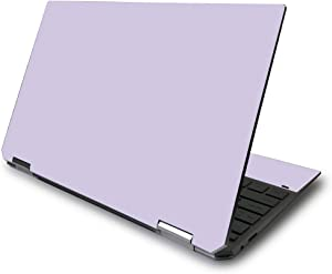 "MightySkins Skin for HP Spectre x360 13.3"" Gem-Cut (2020) - Solid Lilac 