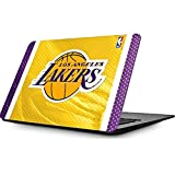 Skinit NBA Los Angeles Lakers MacBook Air 11.6 (2010-2016) Skin - Los Angeles Lakers Home Jersey Design - Ultra Thin, Lightweight Vinyl Decal Protection