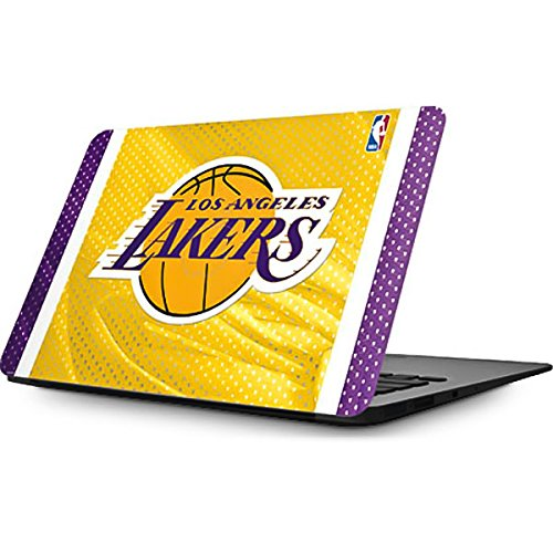 Skinit NBA Los Angeles Lakers MacBook Air 11.6 (2010-2016) Skin - Los Angeles Lakers Home Jersey Design - Ultra Thin, Lightweight Vinyl Decal Protection by Skinit