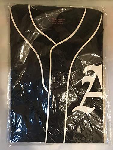 未着用 安室奈美恵 2001 break the rules tour 限定 公式グッズ ユニフォーム ベースボール風 トップス ユニホーム Tシャツ