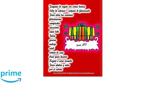 Amazon.com: Paquetes de regalo con cintas bonitas Libro de ...