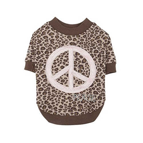 Pinkaholic New York Woodstock Shirt, Medium, Brown by Pinkaholic New York