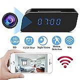 Best Canon Alarm Clocks - YEXIN Spy Camera, 1080P HD WiFi Hidden Camera Review