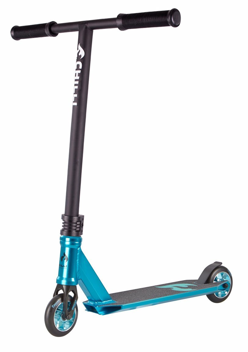 Amazon.com: Chilli 3000 Mini Scooter (Blue/Black): Sports ...