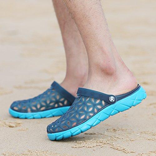 25e05af6234 Xing Lin Sandalias De Hombre Los Hombres Del Agujero De Verano Zapatos Zapatillas  Zapatillas De Playa