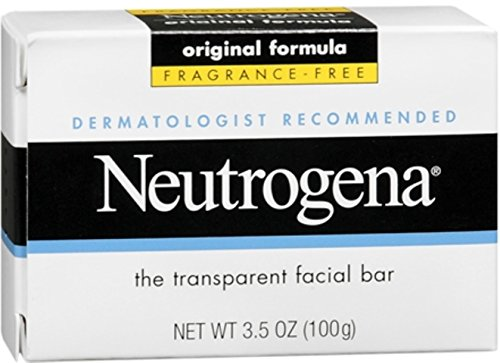 Neutrogena The Transparent Facial Bar Original Formula, Frag