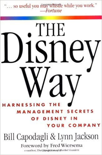 نتيجة بحث الصور عن ‪The Disney Way: Harnessing the Management Secrets of Disney in Your Company‬‏