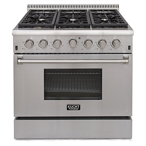 Pro Style Convection Gas Range (Kucht KRG3618U/LP Professional 36