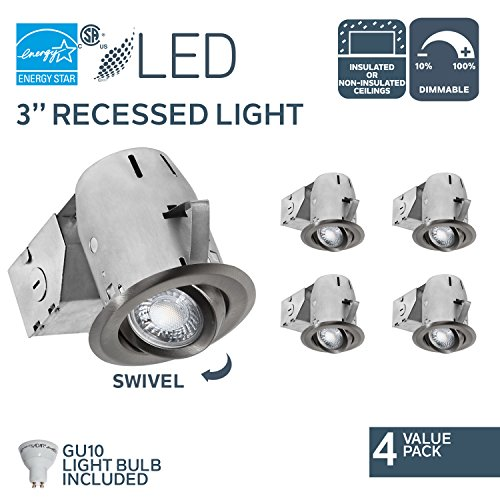 Led Recessed Lighting Insulated Ceiling