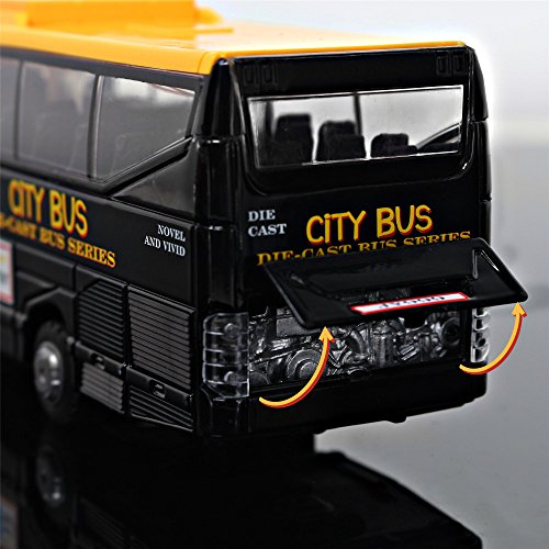 Zombie Eye Appliance (Models Car Long-distance Black Bus Kids Toys Classical Vehicle For Children Juguetes Boy Birthday Gift Diecasts)