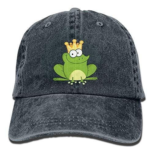 Doormat bikini Denim Baseball Hat Prince Frog Adult Vintage Washed Cotton Adjustable