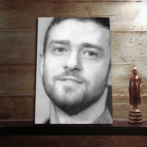 Seasons Justin Timberlake - Original Art Print (A4 - Signed by The Artist) #js003