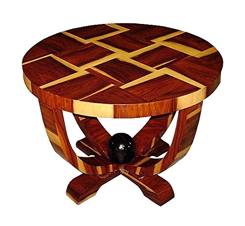 Deco Art Rosewood Desk - Gorgeous Art Deco Style Brazilan Rosewood Side Table