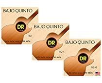 DR Strings BQ-10 Bajo Quinto 10-String Coated Strings 3-Pack