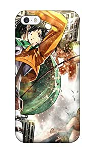 DanRobertse Protector Specially Made Case For Sam Sung Galaxy S5 Mini Cover Anime Shingeki No Kyojin Rivaille Guys