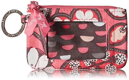 (Vera Bradley womens Zip Id Case, Blush Pink, One size)