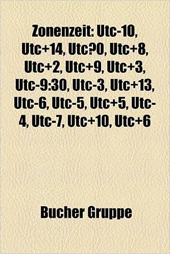 Zonenzeit: Utc-10, Utc+14, Utc...