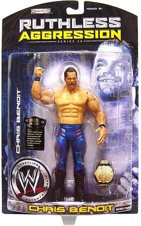 Jakks Pacific WWE Wrestling Ruthless Aggression Series 26 Chris Benoit Action Figure