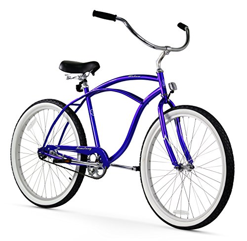 UPC 609465212494, Firmstrong Urban Man Single Speed Beach Cruiser Bicycle, 26-Inch, Royal Blue