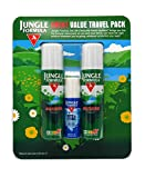JUNGLE FORMULA INSECT REPELLENT TRAVEL COMBO PACK