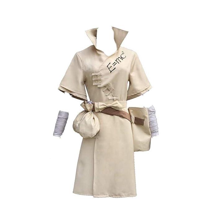 Amazon.com: HEYUHECOS Dr.Stone Senku Ishigami - Disfraz de ...