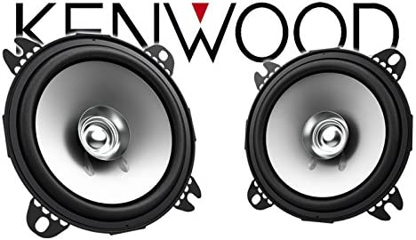 Einbauset f/ür Opel Vivaro A Lautsprecher Boxen Kenwood KFC-S1056-10cm Koax Auto Einbauzubeh/ör JUST SOUND best choice for caraudio