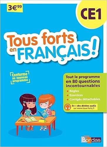 En ligne Tous forts en Français CE1 - Nouveau programme 2016 pdf, epub
