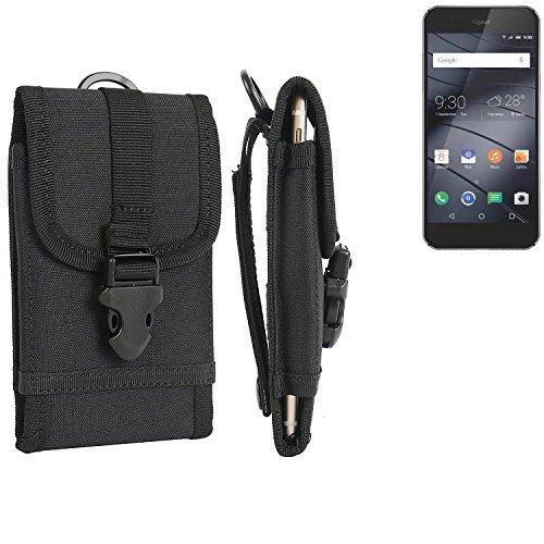 bolsa del cinturón / funda para Gigaset ME I Pro, negro | caja del teléfono cubierta protectora bolso - K-S-Trade (TM)