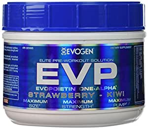 Evogen Evp 40 Servings Protein Powders, Strawberry Kiwi, 0.99 Pound