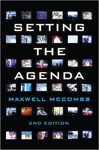 Setting the Agenda: Mass Media and Public Opinion - Kindle ...