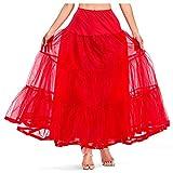 Women's A Line Party Skirt Dancing Elastic Waist Tutu Skirts