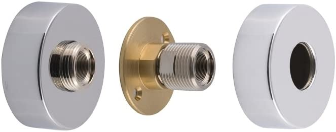 Deva Spe11 Front Wall Fixing For Bar Shower Valve With Chrome Finish Amazon Co Uk Diy Tools