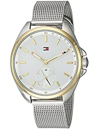Women's 'SPORT' Quartz Silver and Gold and Stainless Steel Casual Watch, Color:Two Tone (Model: 1781759)