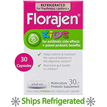Amazon Com Florajen Kids Refrigerated Probiotics
