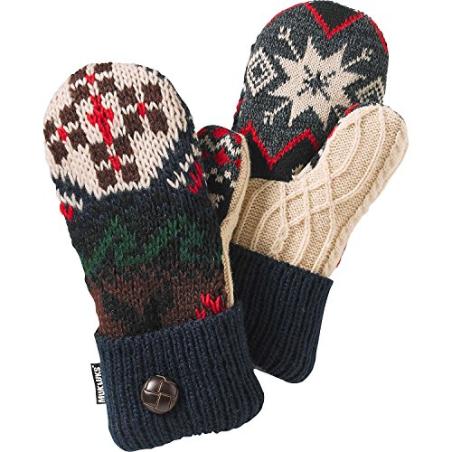 Legendary Whitetails Ladies Lodge Pot Holder Mittens Navy