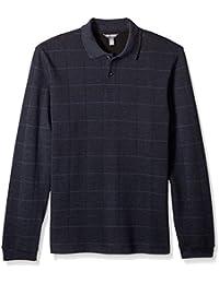 Men's Long Sleeve Jaspe Polo