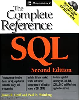 SQL: The Complete Reference, Second Edition (Osborne Complete Reference Series)
