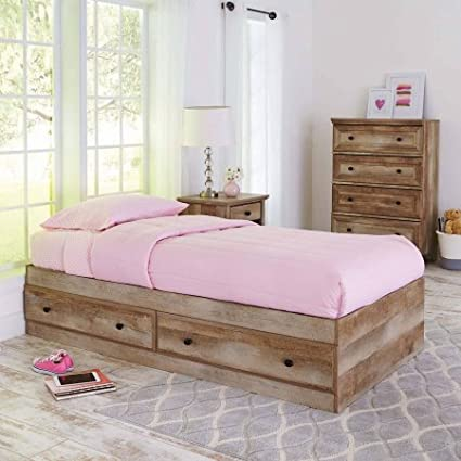 amazon com better homes and gardens crossmill mates bed weathered rh amazon com