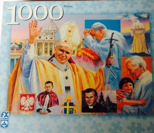 Pope John Paul ll 1000 Piece Jigsaw Puzzle by F.X. Schmid