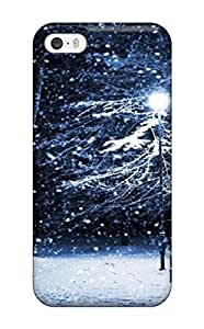 ZippyDoritEduard Case Cover For Iphone 5/5s - Retailer Packaging Amazing Park Bench In Winter Night Protective Case