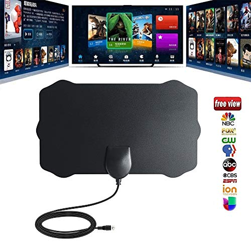 TV Antenna, 50 Mile Range Antenna TV Digital HD Skywire 4K Antena Digital Indoor HDTV 1080p by Little Story ()
