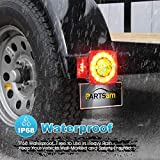 Partsam Led Submersible Trailer Tail Lights