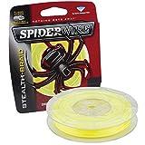 Spiderwire Braided Stealth Superline, 300-Yard/30-Pound, Hi-Vis Yellow