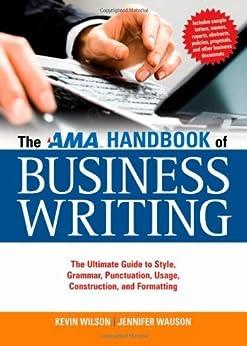 The ama handbook of business writing