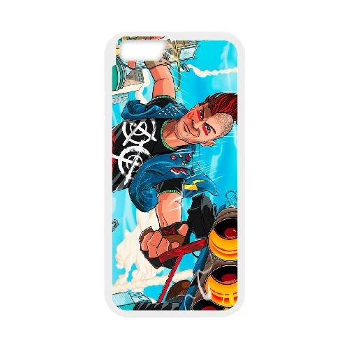Sunset Overdrive 2 coque iPhone 6 Plus 5.5 Inch cellulaire cas coque de téléphone cas blanche couverture de téléphone portable EEECBCAAN05935