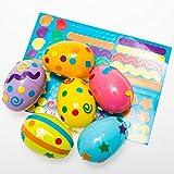 Easter Egg Sticker Stencils