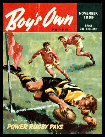 BOY'S OWN PAPER - Volume 82, number 2 - November 1959